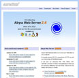 Portable Abyss Web Server
