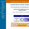 ComfortAir HVAC Software