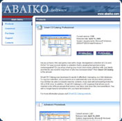 Abaiko Disk Space Monitor Server Edition
