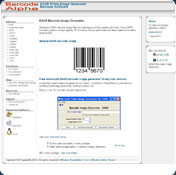 Barcode Prime Image Generator for Code39