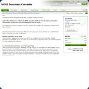 MOSS Document Converter