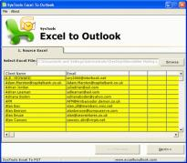 Export Excel File to Outlook Contacts