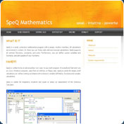 Portable SpeQ Mathematics