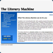 The Literary Machine