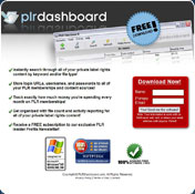 PLR Dashboard