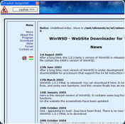WinWSD WebSite Downloader