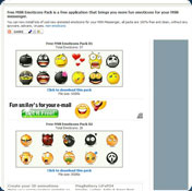 Free MSN Emoticons Pack 3