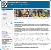 Internet Broadcasting Server Free Edition