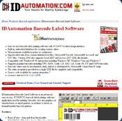 IDAutomation PDF417 Font and Encoder 4 1 Download