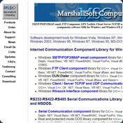MarshallSoft GPS Component for Visual Basic