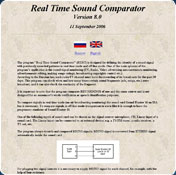 Real Time Sound Comparator 6.1
