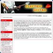 Electric Guitar Screensaver