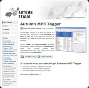 Autumn MP3 Tagger
