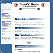 DirectX Buster 2.1 Beta 4 Build 41