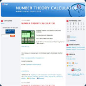 Number Theory Calculator